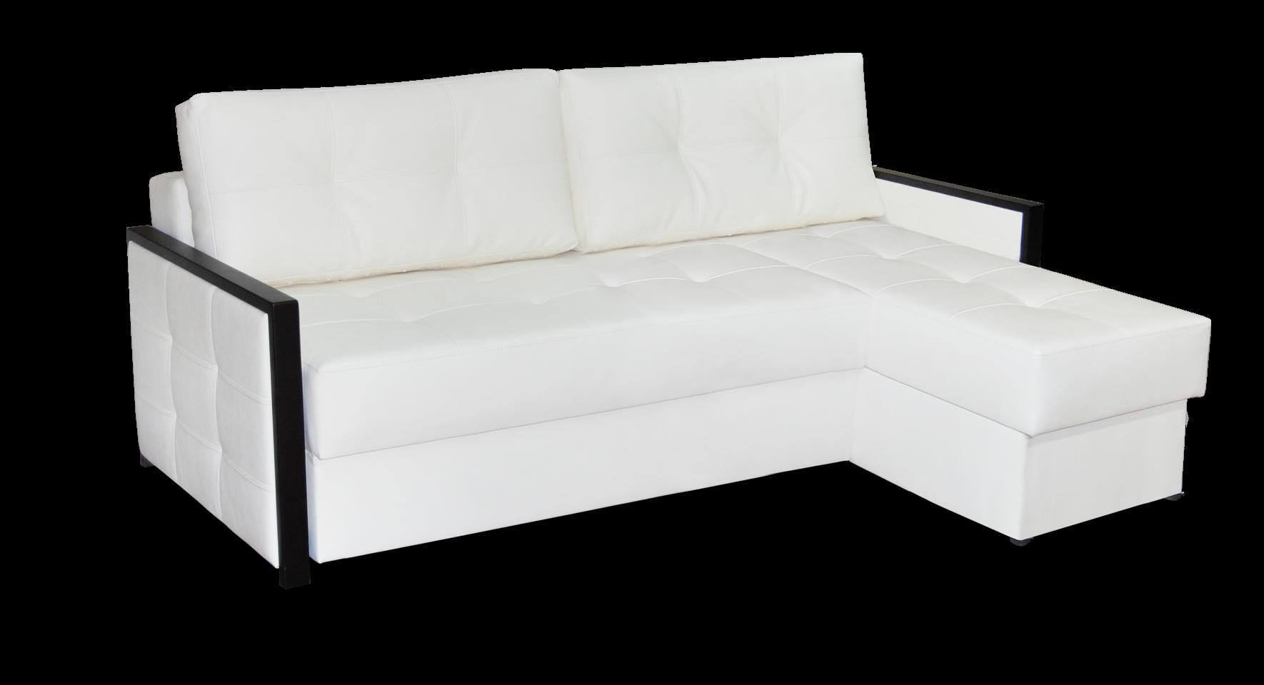 Угловой диван с оттоманкой Ника