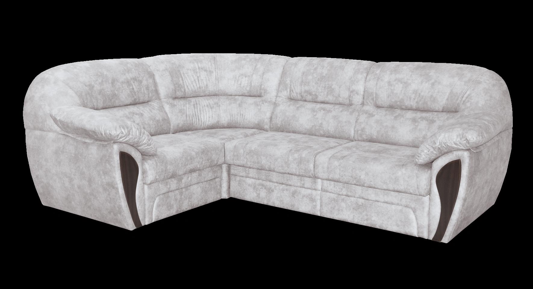 Угловой диван мягкий Лаура