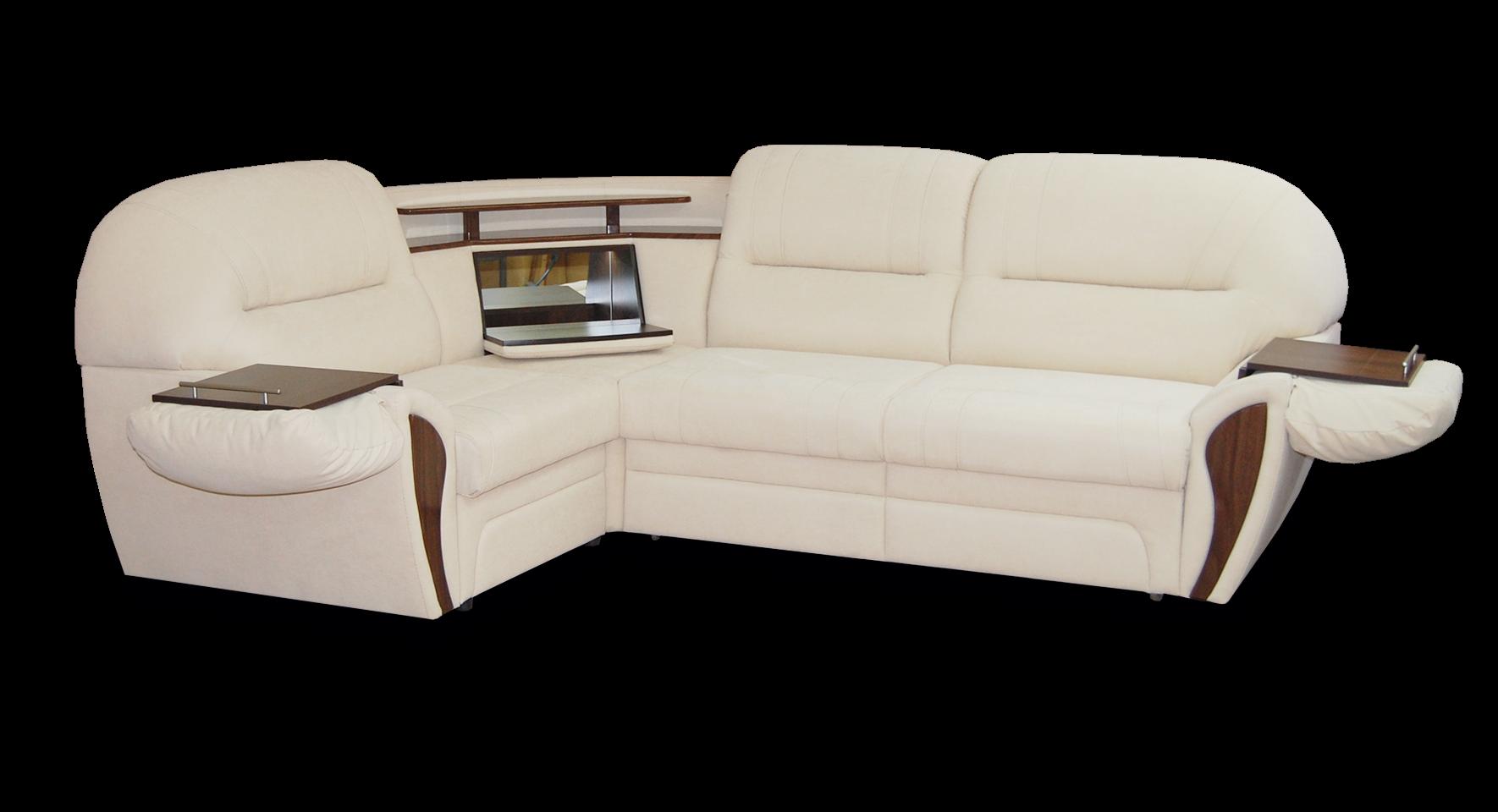 Угловой диван с баром Лаура (Дельфин)