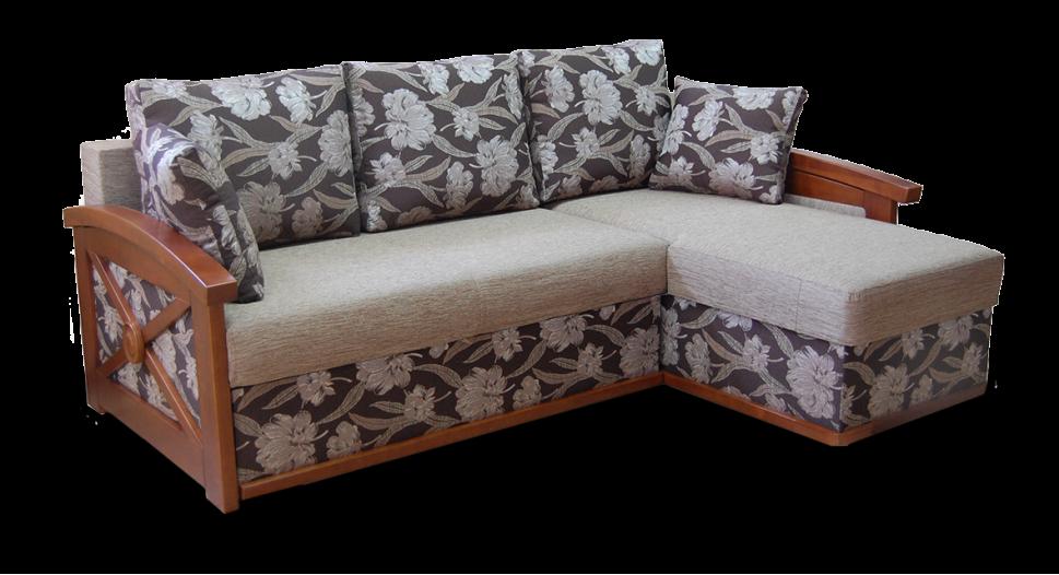 Угловой диван с оттоманкой Женева