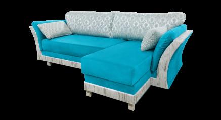 купить Диван с оттоманкой, диван с оттоманкой Венеция, диван с оттоманкой еврокнижка Венеция