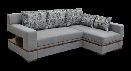 купить Диван с оттоманкой, диван длинный бок, диван с оттоманкой Цезарь, диван с оттоманкой Дельфин Цезарь
