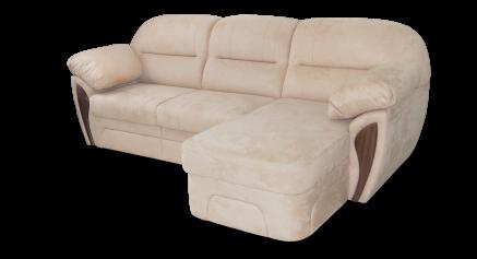 купить Диван с оттоманкой, диван короткий бок, диван с оттоманкой Лаура, диван с оттоманкой Дельфин Лаура (короткий бок)