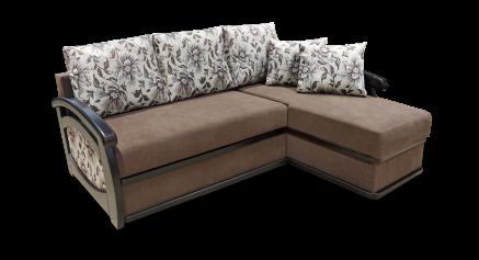 купить Диван з отоманкою, диван довгий бік, диван з отоманкою Прага, диван з отоманкою Дельфін Прага (довгий бік)