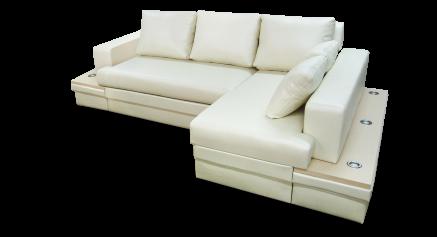 купить Диван с оттоманкой, диван длинный бок, диван с оттоманкой Фараон, диван с оттоманкой Дельфин Фараон
